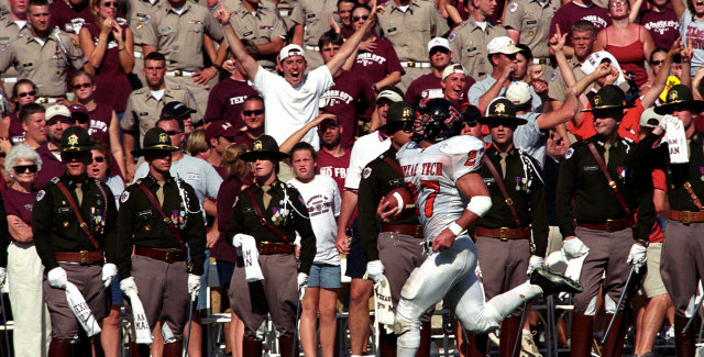 Top 10 Moments In Texas Tech And Texas A M History Texas Tech Red Raiders
