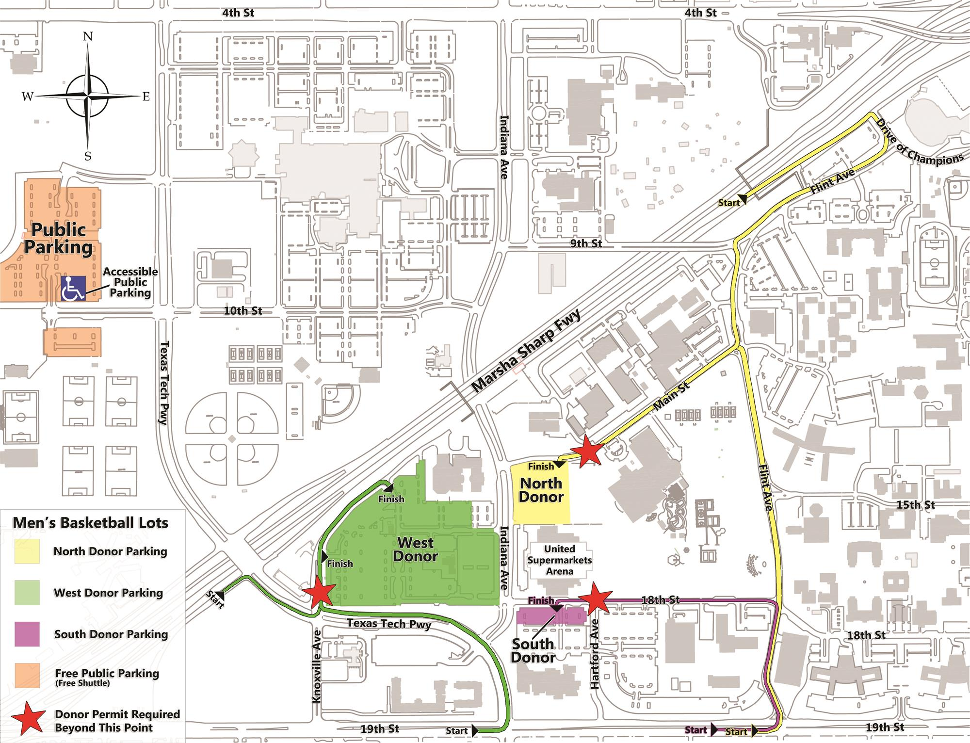 Tech Announces Basketball Traffic and Parking Changes - Texas ...