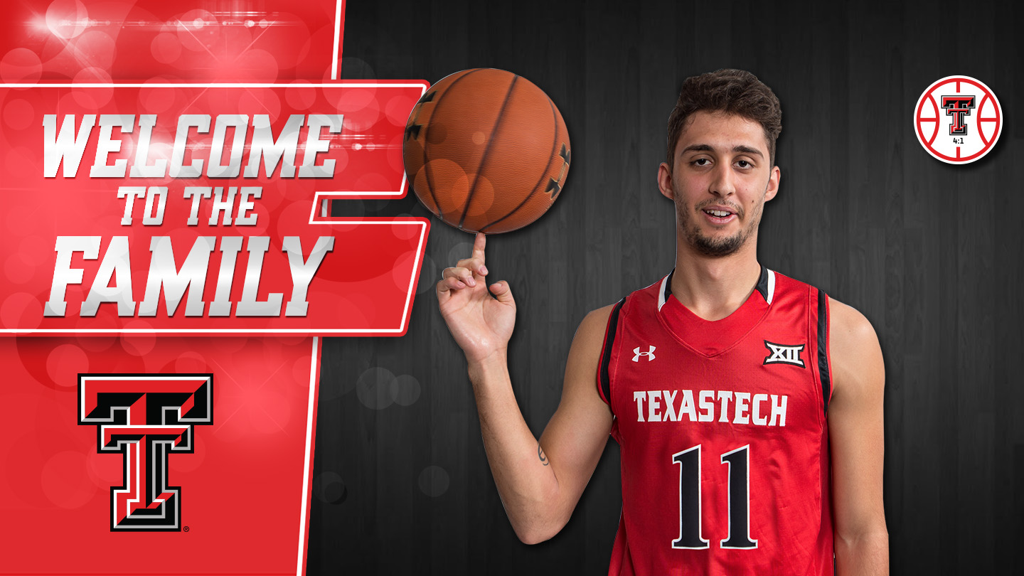 men's basketball inks davide moretti to asa - texas tech university