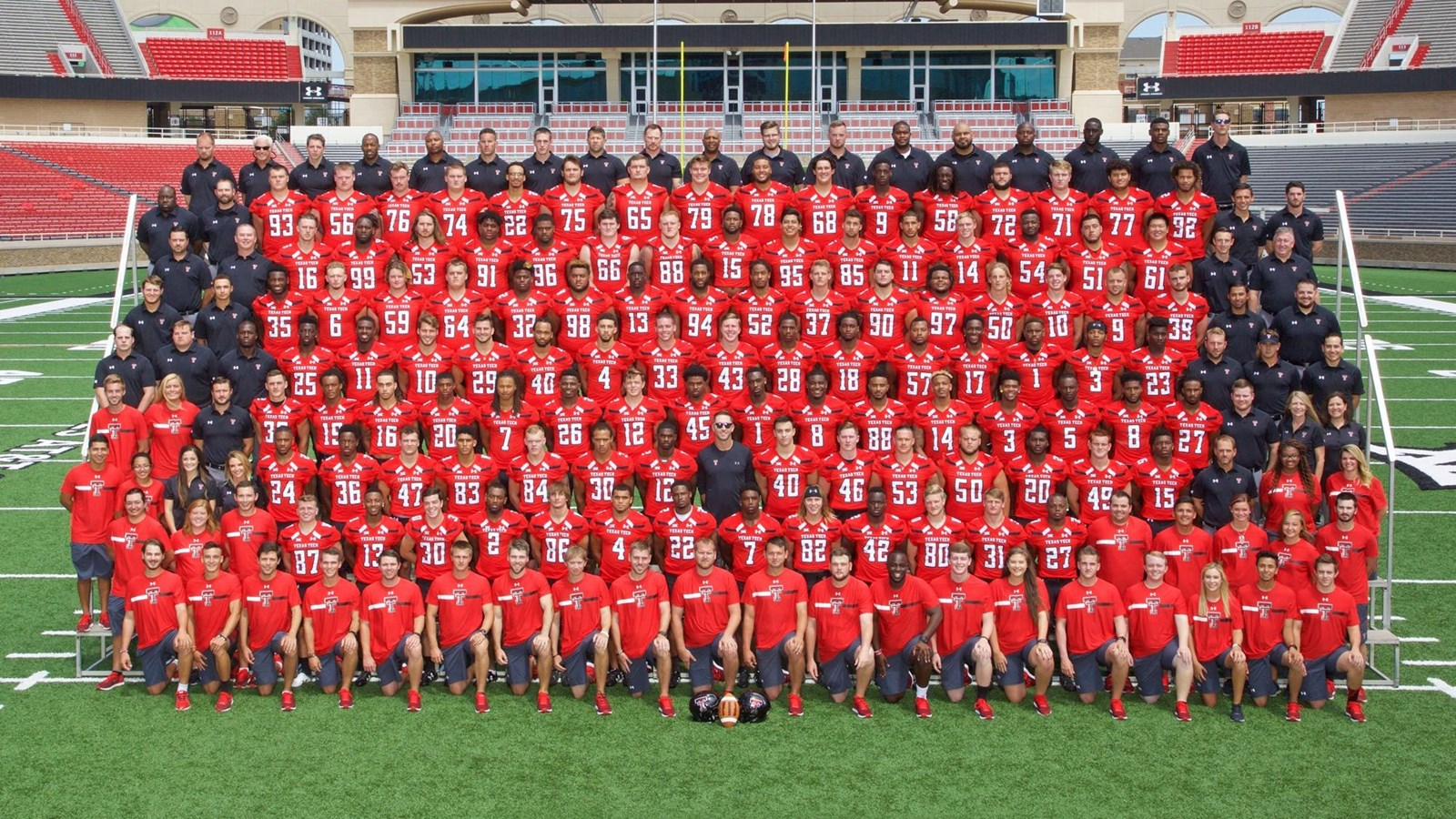 2017 Football Roster Texas Tech Red Raiders