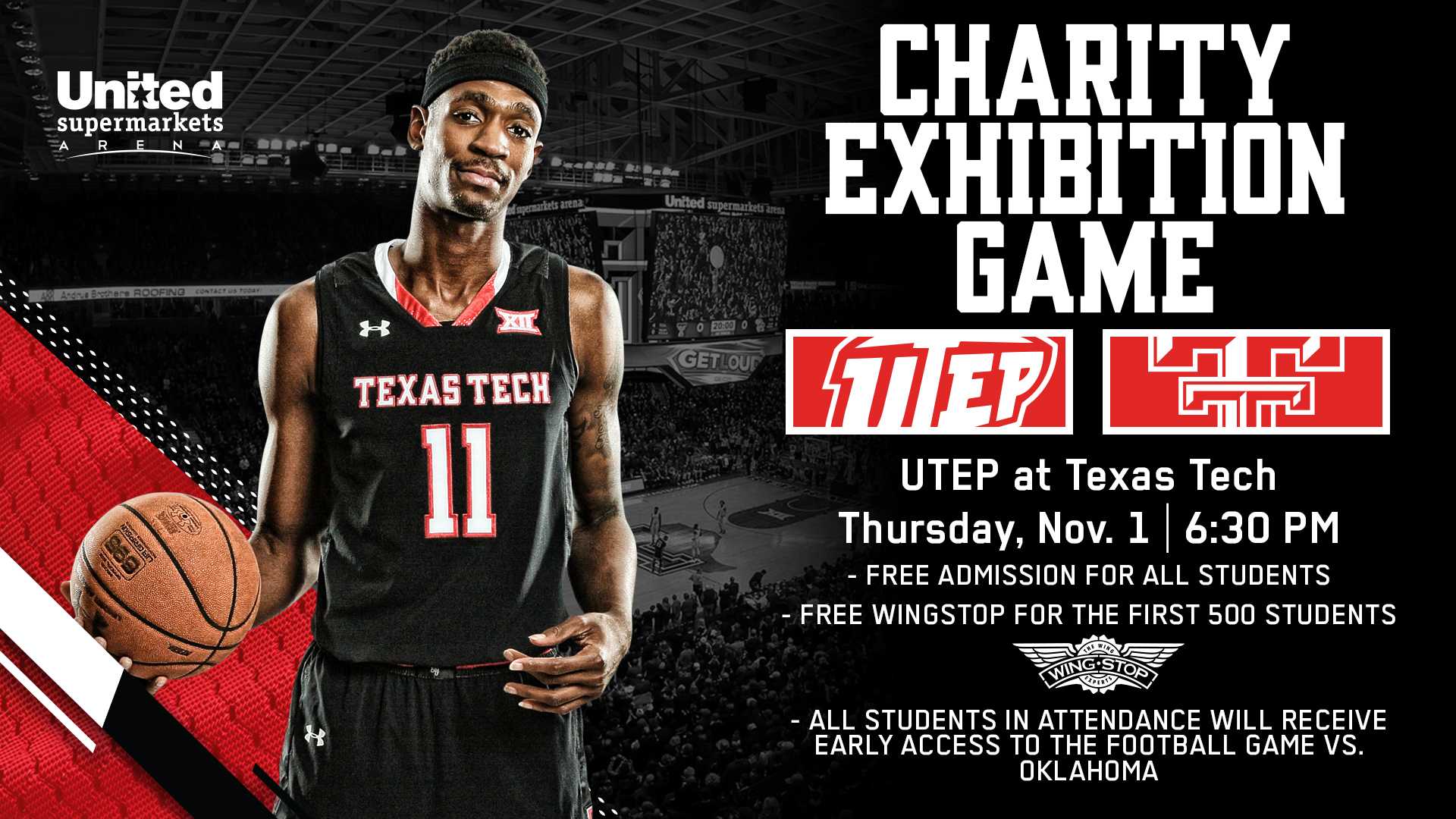 basketball preview: utep - texas tech university athletics