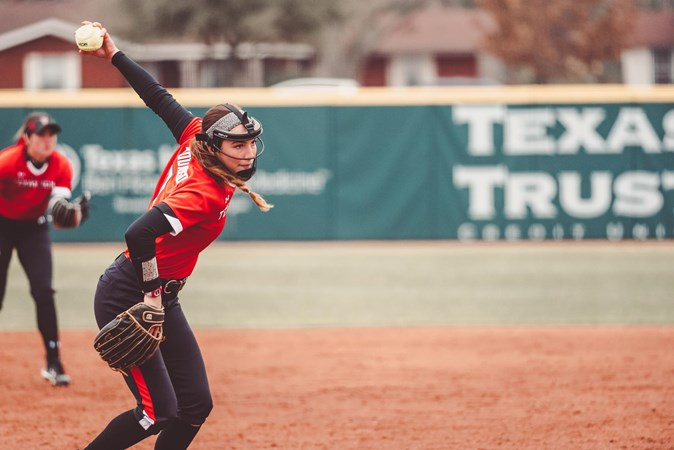Softball Set for Four Games in Orlando - Texas Tech