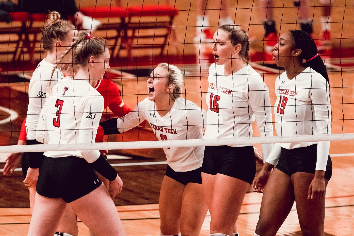 Tech Volleyball Honored For Academic Success Texas Tech Red Raiders