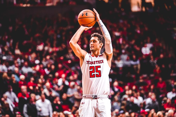 Texas Tech Red Raiders NCAA Basketball: LUBBOCK, Texas – Texas Tech has risen to No. 15 in the Associated Press Top-25 Poll a...