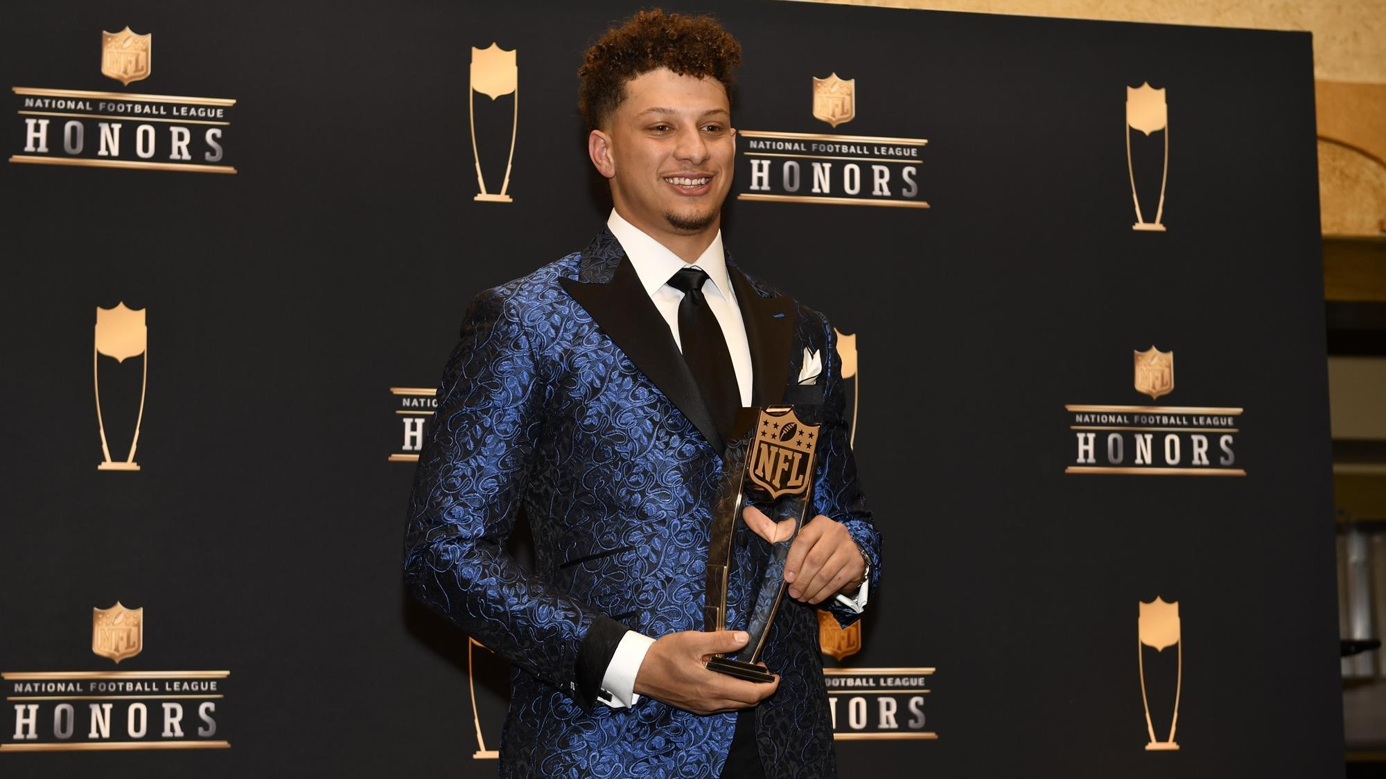 ce4732f5d0cf Mahomes  Impressive Debut Ends in NFL MVP Honors - Texas Tech ...