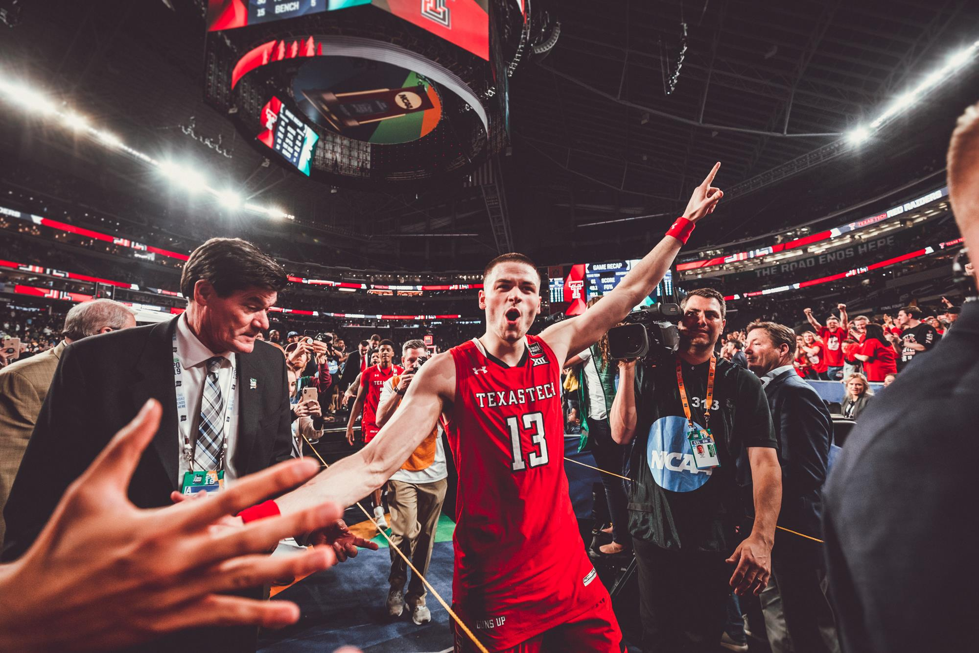 Final Four Recap Red Raiders 61 Michigan State 51 Texas